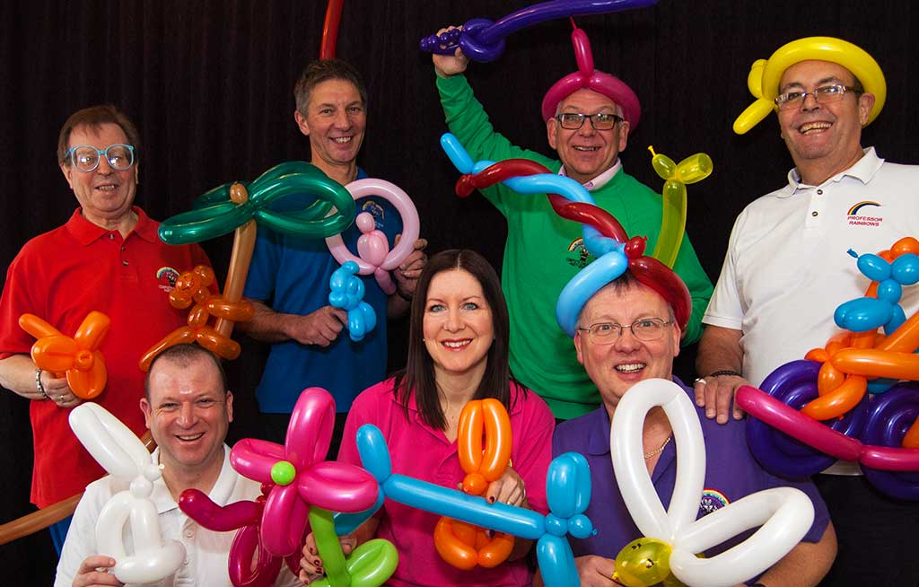 Balloon Modelling team photo