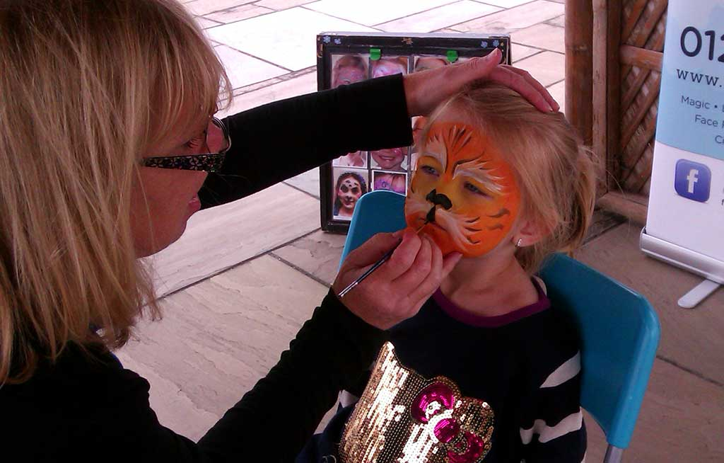 Fun Day face painting for hire