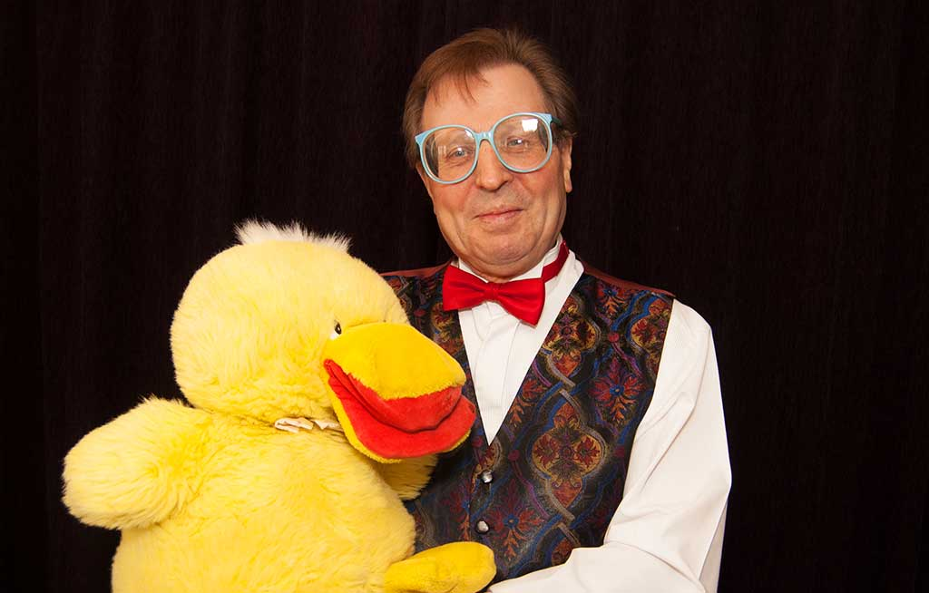 Mr Wiz and Dizzy the Duck