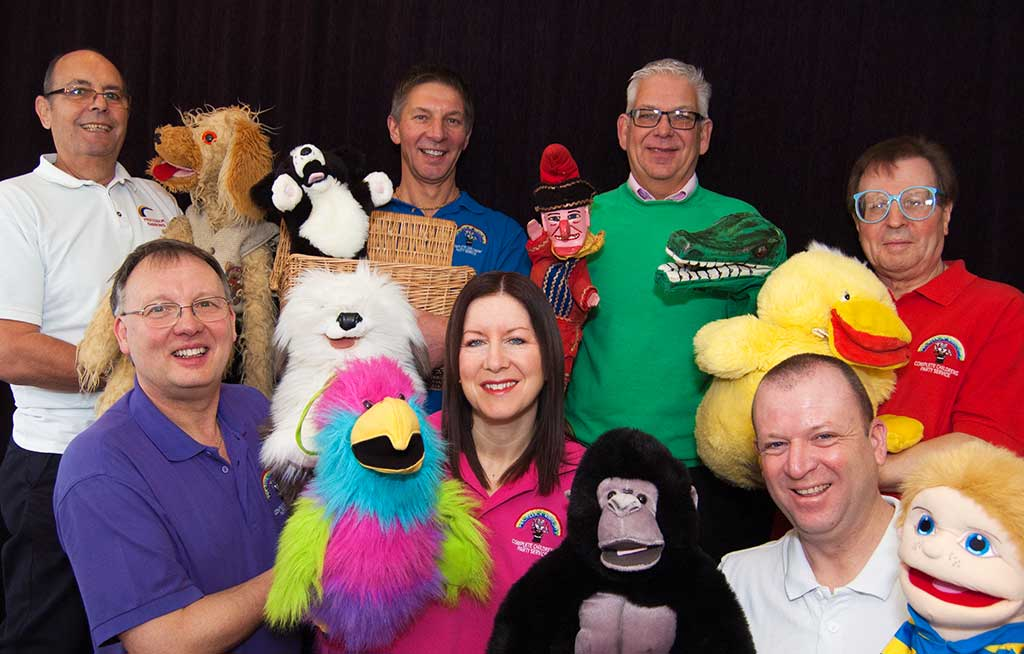 Puppet show team photo